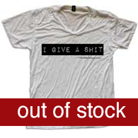 TNH I give a shit tee